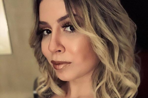 Perfil do rosto de Marília Mendonça
