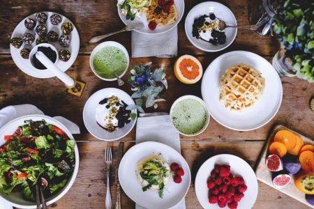 Comidas misturadas incluídas na dieta escandinava