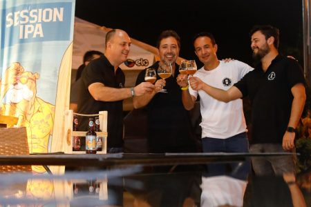 Afonso Ribeiro, Marcos Ottoni, Breno de Pina Oliveira e Vandeir Daves Bochi