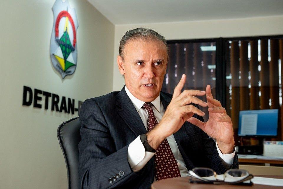 Zélio Maia Rocha, novo diretor do Detran