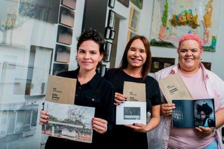 Júlia Godoy, Bete Coutinho e Amanda Carneiro