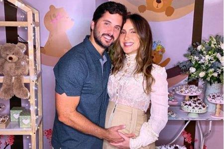 Claudia Leitte e o marido, Márcio Pedreira