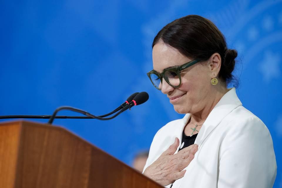 Cerimônia de Posse da Secretária Especial da Cultura do Ministério do Turismo, Regina Duarte