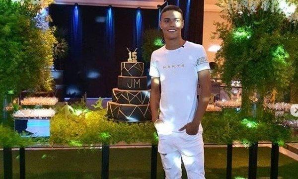 Filho de Ronaldinho Gaúcho comemora aniversário em Belo Horizonte