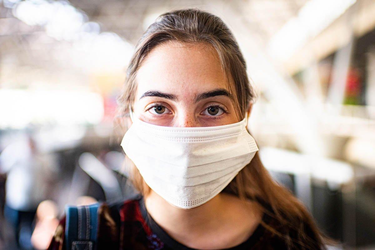 Mascara respiratória para proteção do coronavírus