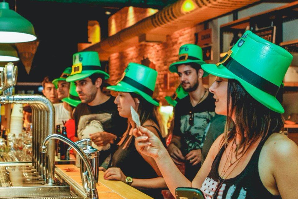 St. Patrick's Day no Bar do Urso