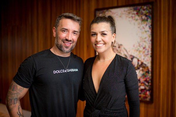 André Monjardim e Margot Albuquerque