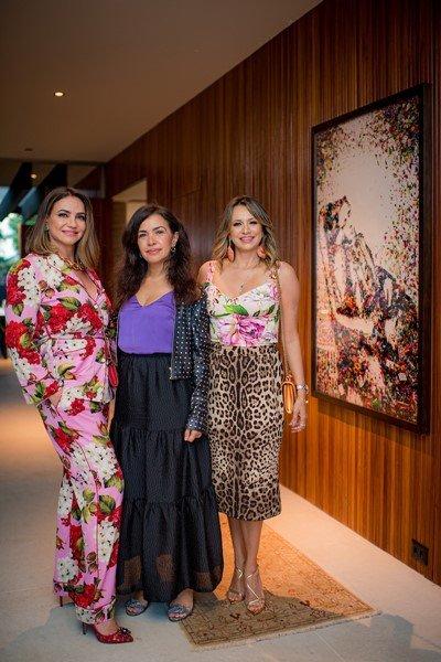 Isabella Carpaneda, Claudia Meireles e Vanessa Lemos
