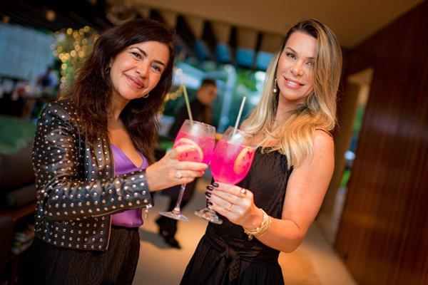 Claudia Meireles e Sylvia Lacerda