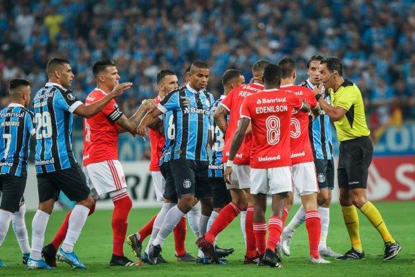 Confusão no Gre-Nal da Libertadores