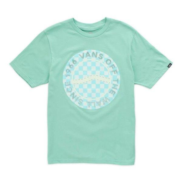 Camiseta da Vans em verde-menta