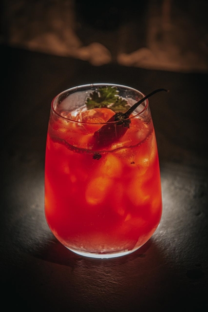Mosaico Spicy, drinque do chef Paulo Tarso