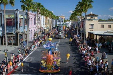 Parada no Universal Studios de Orlando