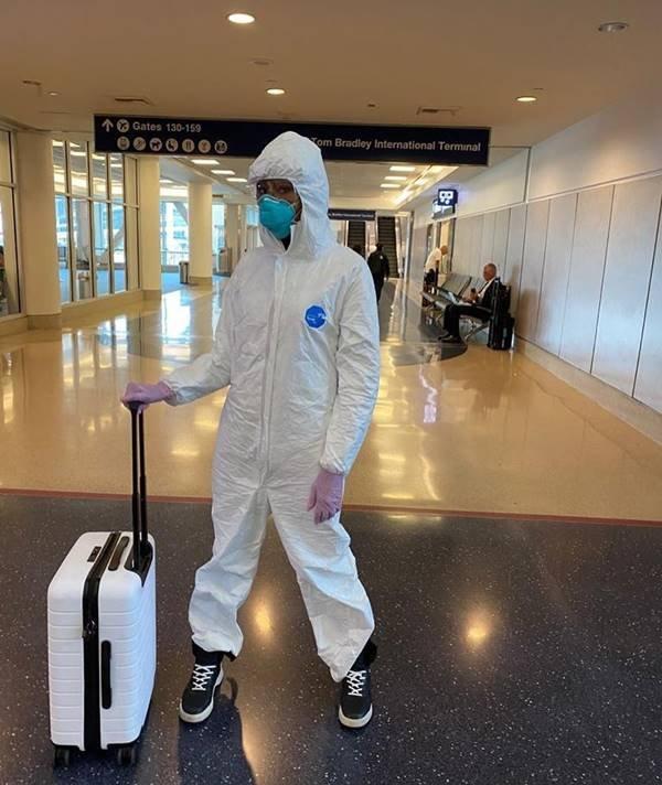 Naomi Campbell proteção coronavírus