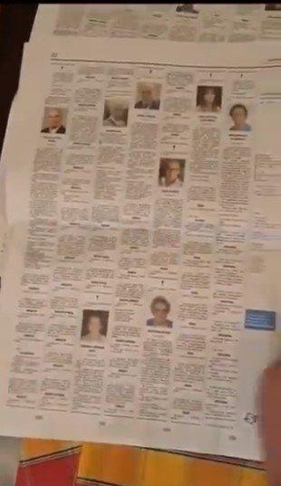 jornais italianos com obituários