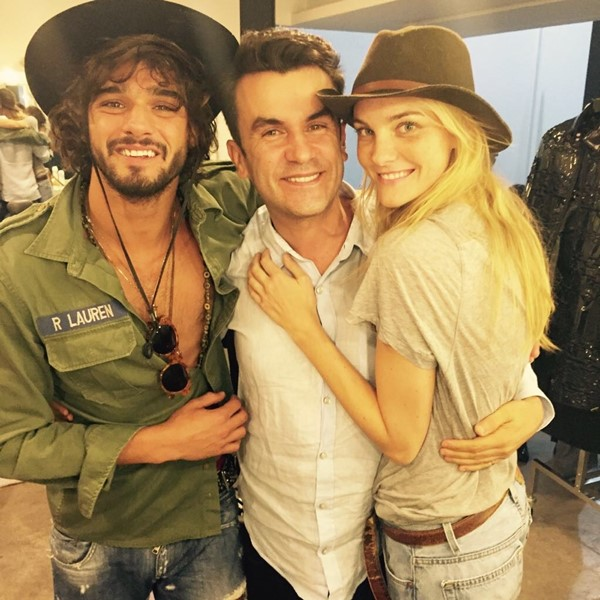 Anderson, His, with, Marlon Teixeira, and Carol Trentini