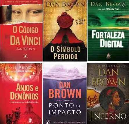 dan brown livros