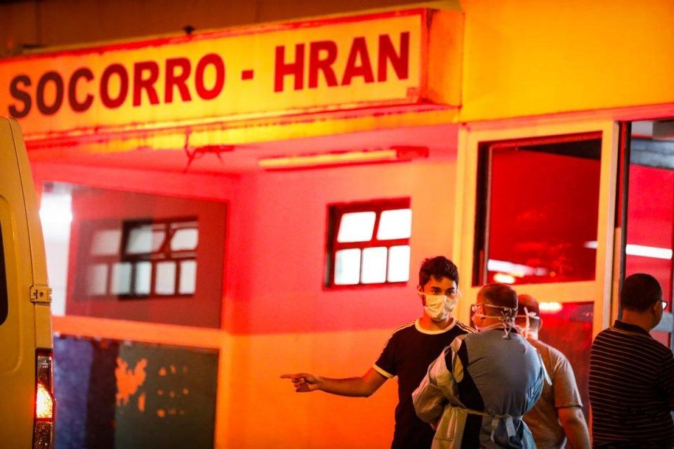 Pacientes aguardam atendimento no pronto Socorro Hran