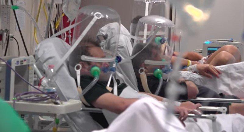 Pacientes com bolhas na cabeça