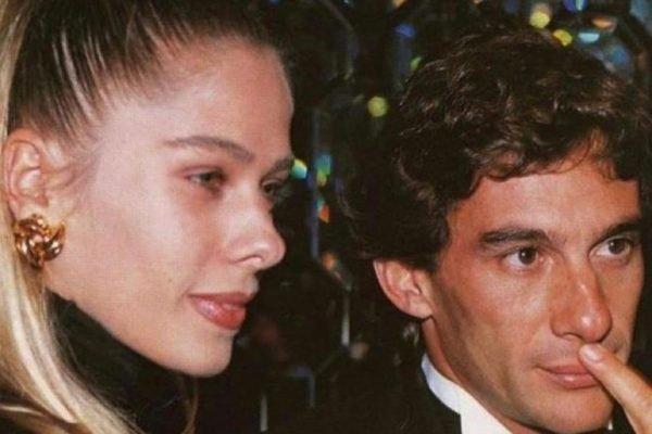 Adriane Galisteu e Ayrton Senna juntos