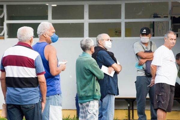 Vacinação contra gripe posto 612 Sul