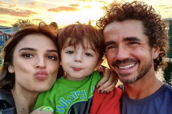 Rafa Brites filho Rocco e marido Felipe Andreoli