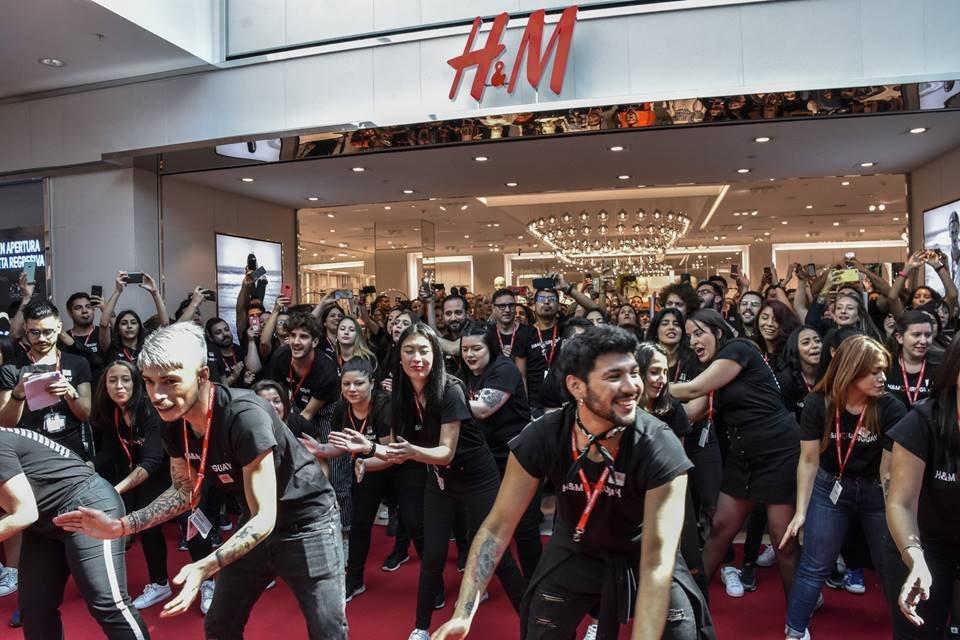 Loja do grupo H&M