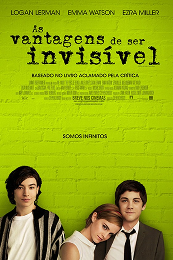 Cartaz do filme As Vantagens de Ser Invisível