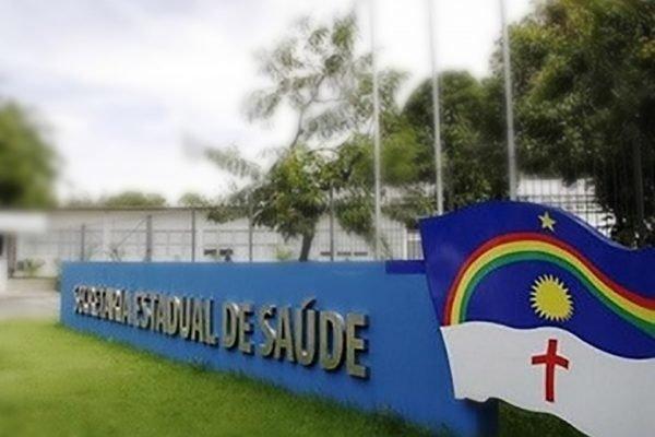 Fachada da Secretaria Estadual de Saúde de Pernambuco
