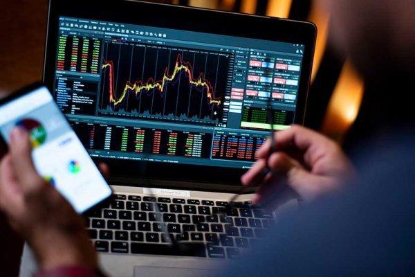 Bolsa de Valores, Investimento, grafico, dinheiro, PIB, queda