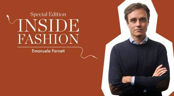 Emanuele Farneti em chamada de podcast