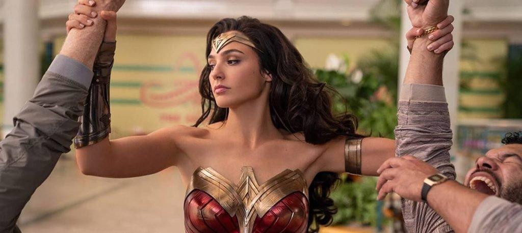 Gal Gadot in the Wonder Woman 1984
