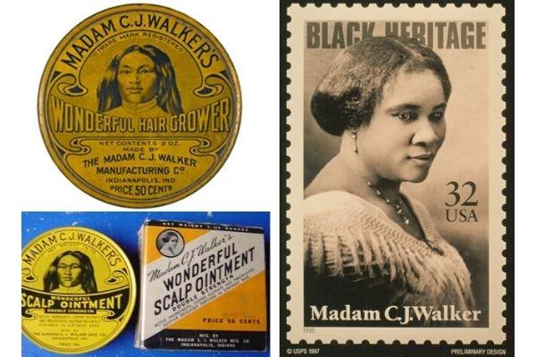 Produtos de Madam C. J. Walker