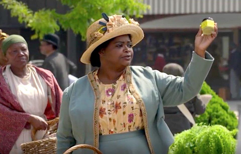 Cena da minissérie da Netflix A Vida e a História de Madam C. J. Walker