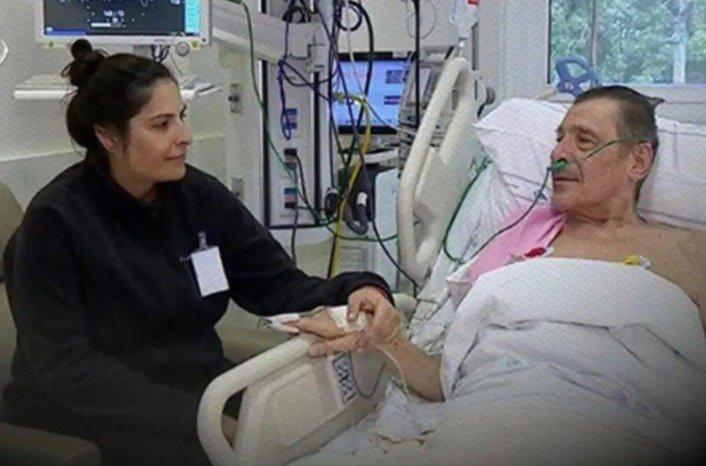 Walter Balestra, internado por enfisema pulmonar, foi usado em post como se tivesse tido coronavírus e sido tratado com hidroxicloroquina