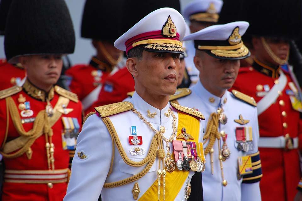 Maha Vajiralongkorn, rei da Tailândia
