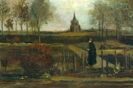 Lentetuin (Jardim da Primavera), de Vincent van Gogh