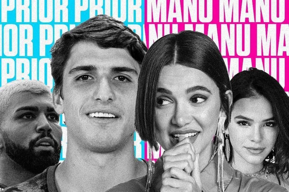 Prior, Manu, Bruna Marquezine, Gabigol