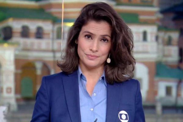Renata Vasconcellos Rede Globo Jornalismo