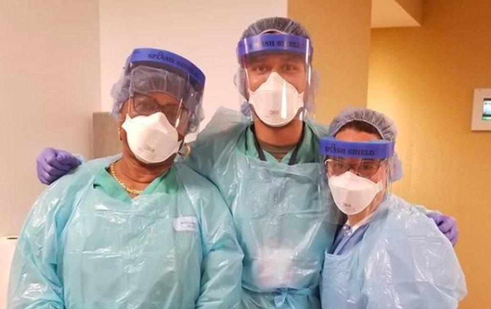 Ex-lutador Phillipe Nover trabalha como enfermeiro nos EUA
