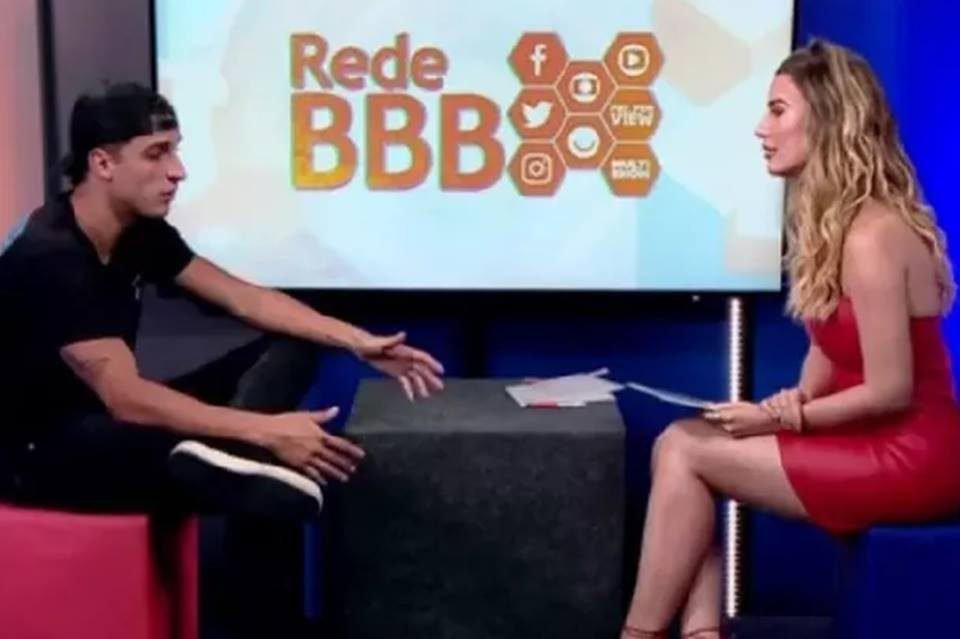 Fernanda Keulla Felipe Prior Rede BBB