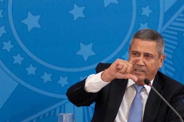 Ministro da Casa Civil, general Walter Braga Netto