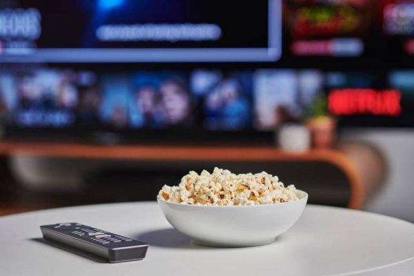 Plataforma de streaming na TV