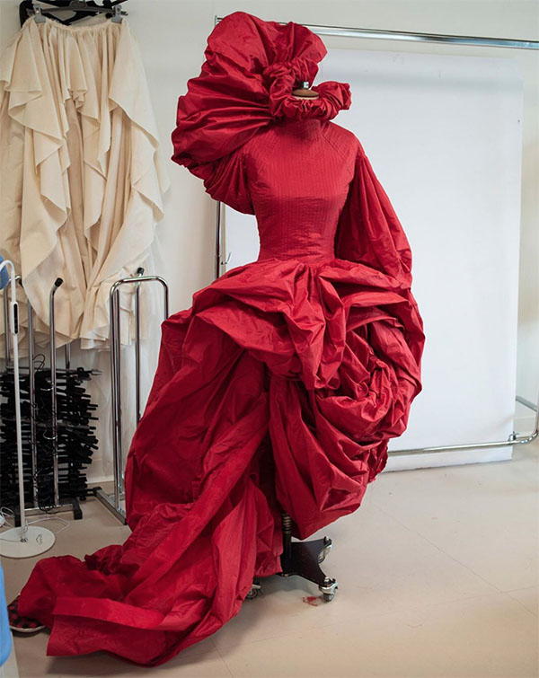 Vestido vermelho