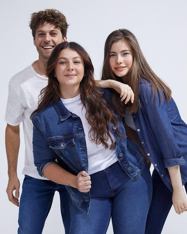 modelos em campanha da Hering