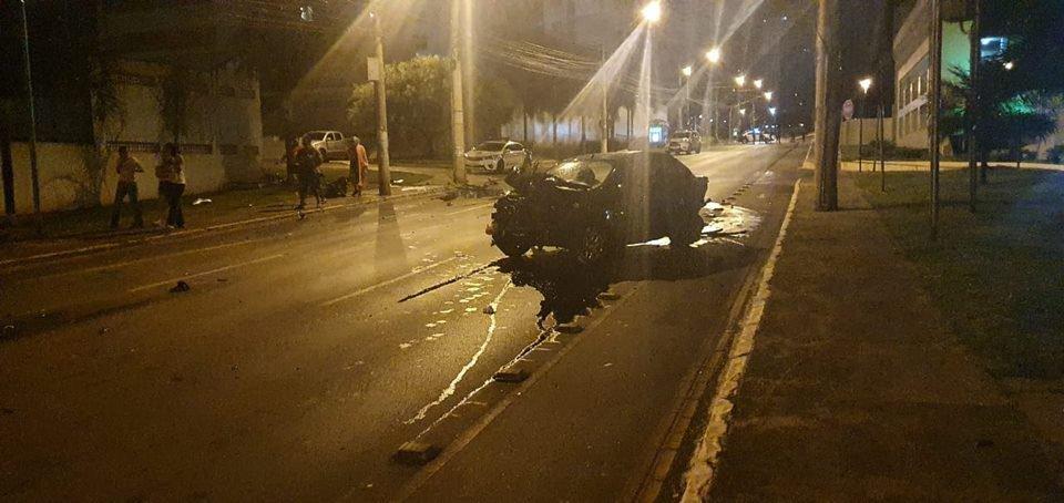 PCDF apura disputa de racha em Águas Claras que deixou motorista ferido