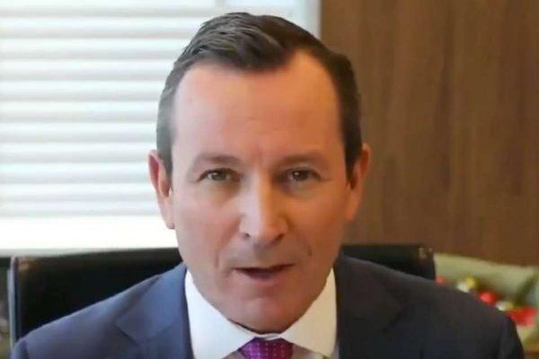 Primeiro Ministro da Austrália Mark McGowan