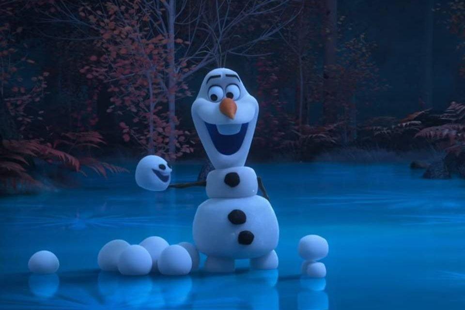 Olaf de Frozen em série no YouTube