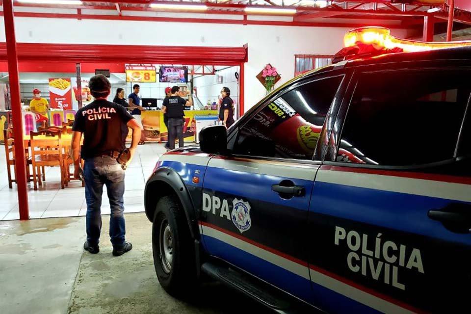 Policiais civis orientam comerciantes sobre o Lockdonw no estado do Pará