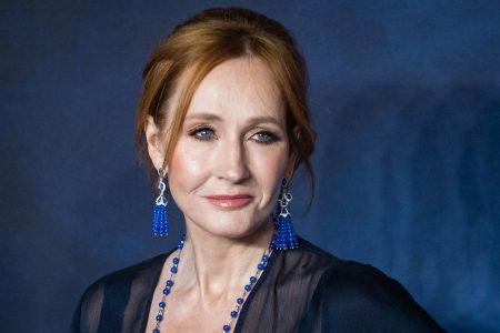 Jk Rowling no red carpet